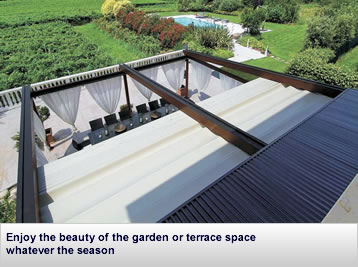 Premier-Shade 500 Retractable Roof System