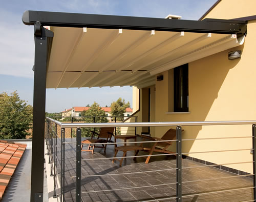 Premier Shade 500 Retractable Roof System